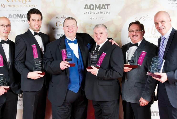 Lauréats employés – AQMAT 2e Gala Reconnaissance