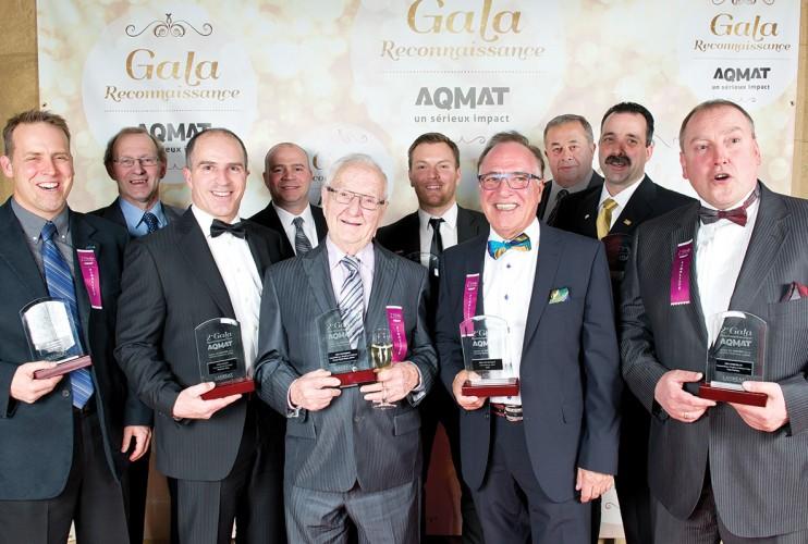 Lauréats entreprises – AQMAT 2e Gala Reconnaissance