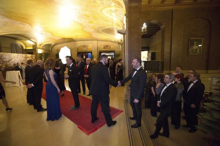 La haie d'honneur- AQMAT 3e Gala Reconnaissance