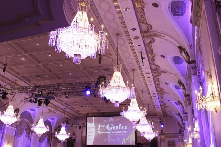 Salle de bal – AQMAT 1er Gala Reconnaissance