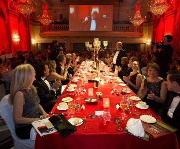 Table d'honneur – AQMAT 4e Gala Reconnaissance