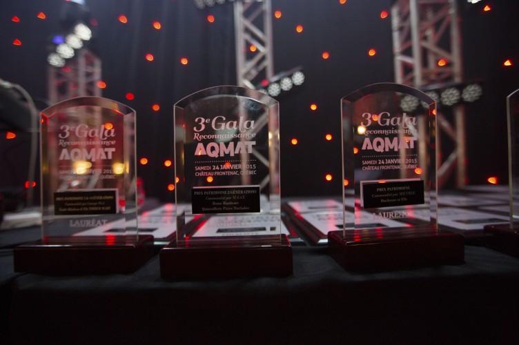 Trophées – AQMAT 3e Gala Reconnaissance